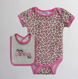 Baby Bib & Bodysuit set – Daddy Loves Me