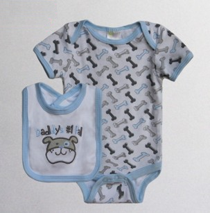 Baby Bib & Bodysuit set – Daddy's #1 Pal