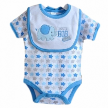 Baby Bib & Bodysuit set – Daddy's Big Guy