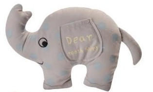 Baby Elephant Tooth Pillow – Baby Boy