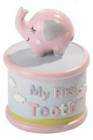 Baby Elephant First Tooth – Baby Girl
