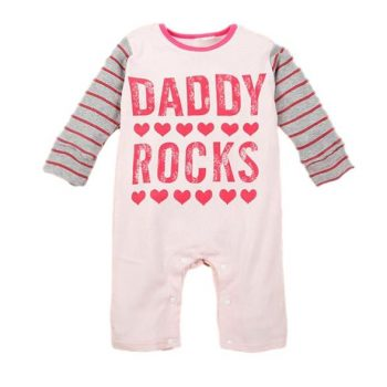 Baby Jumpsuit  – Daddy Rocks