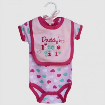 Baby Bib & Bodysuit set – Daddy's Little Girl