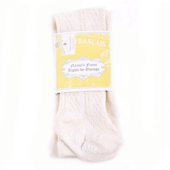 Girls Cable Knit Stockings
