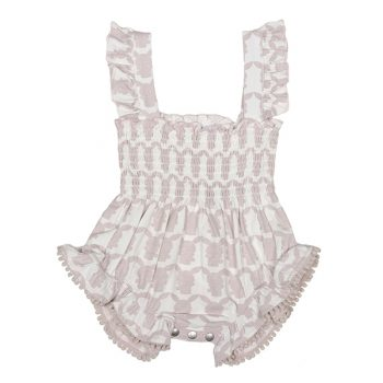 Girls Shirred Playsuit