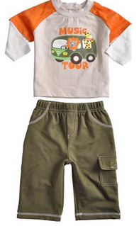 Boys Tracksuit Set – Music Tour