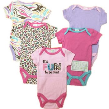 Bodysuits 5pk Watch me grow – It's FUN