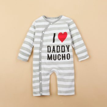 Baby Jumpsuit – I Love Daddy Mucho