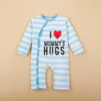 Baby Jumpsuit  – I Love Mummy's Hugs