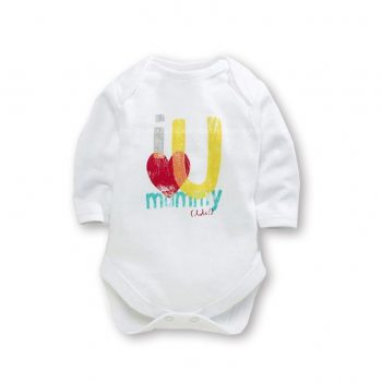 Bodysuit Long Sleeve – I Love U Mummy (lots!)
