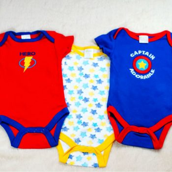 Bodysuits 3pk – Captain Adorable