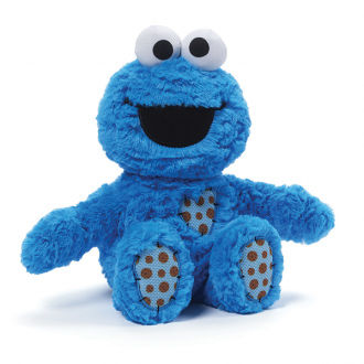 Cookie Monster Patch Plush