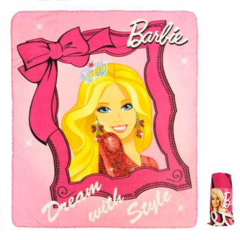 Barbie Polar Fleece Blanket