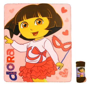 Dora Polar Fleece Blanket