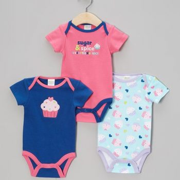 Bodysuits 3pk – Sugar and Spice