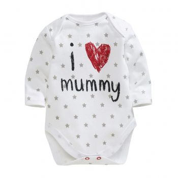Bodysuit Long Sleeve – I Love Mummy