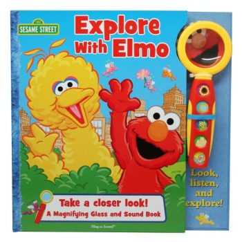 Explore With Elmo: Play-A-Sound & Magnifying Glass