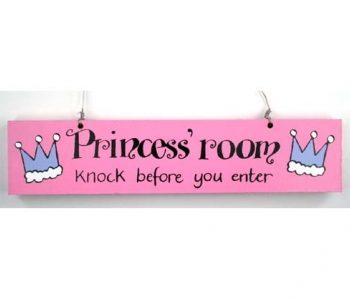 Door Sign –  Princess' Room