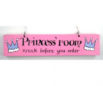 Door Sign –  Princess' Room