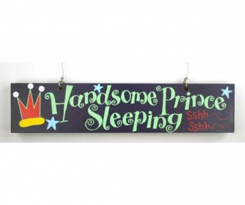 Door Sign – Handsome Prince