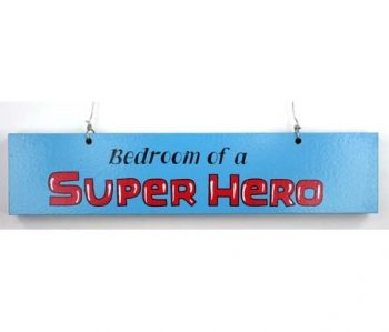 Door Sign – Super Hero