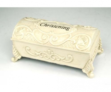 Christening Trinket Box – Small
