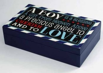 Keepsake Box – A Boy is a Blessing