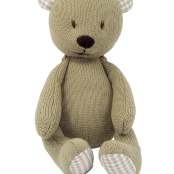 Jointed Knit Bear