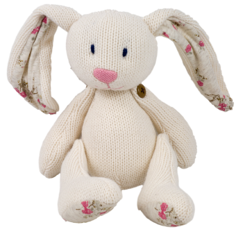 Jointed Knit Bunny
