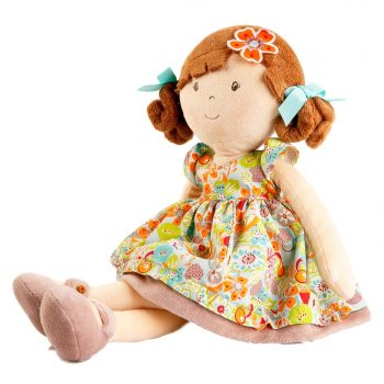 Flower Kids Doll – Brown Hair