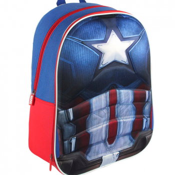 Captain America Body 3D Backpack