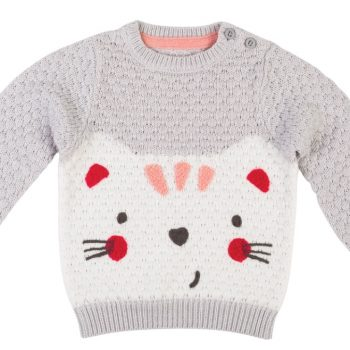 Jill Cat Baby Jumper