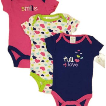 Bodysuits 3pk – Full of love