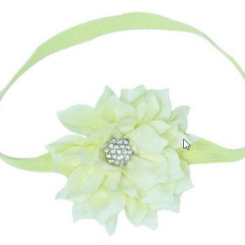 Lotus Flower Headband – Ivory
