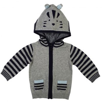 Jack Cat Baby Hooded Jumper
