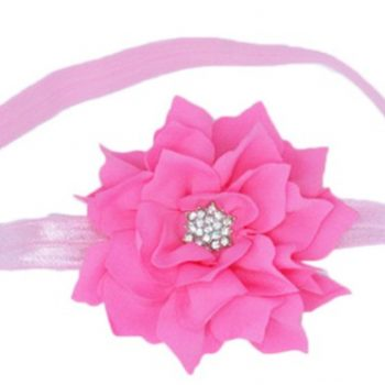 Lotus Flower Headband – Pink