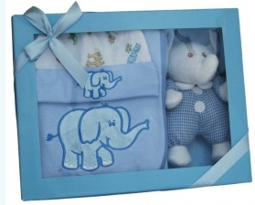 Gift Set – Baby Boy Elephant