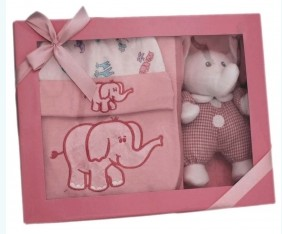 Gift Set – Baby Girl Elephant
