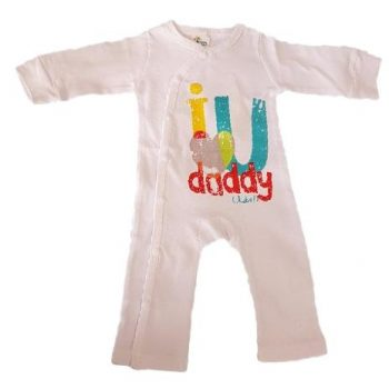 Baby Jumpsuit – I Love U Daddy (lots)