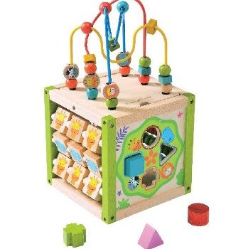 EverEarth Multi Play Activity Cube 5-in-1