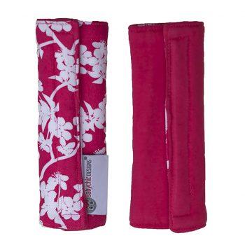 Babychic Strap Covers – Cherry Blossom