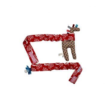 Babychic Pram Toy Straps (Set of 2) – Red Apple Tree