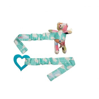 Babychic Pram Toy Straps (Set of 2) – Blue Bird