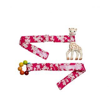 Babychic Pram Toy Straps (Set of 2) – Cherry Blossom
