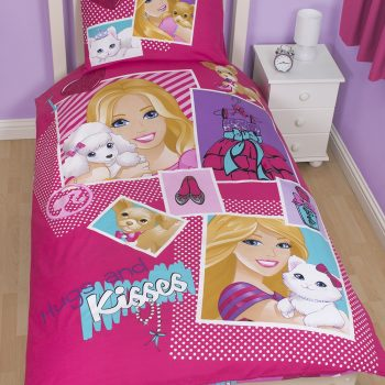 Barbie Quilt Cover Set – Single