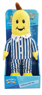 Bananas In Pyjamas Classic Talking Plush – B1