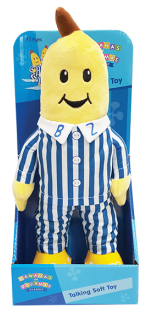 Bananas In Pyjamas Classic Talking Plush – B2