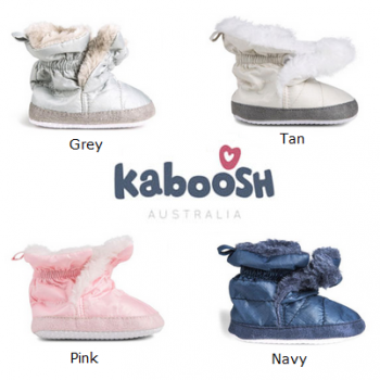 Kaboosh Fur Lined Baby Boots