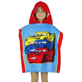 Cars Hooded Towel – Red