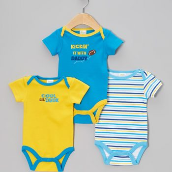 Bodysuits 3pk – Kickin' it with Daddy